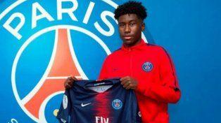 Con 15 años, firmó contrato profesional con el PSG
