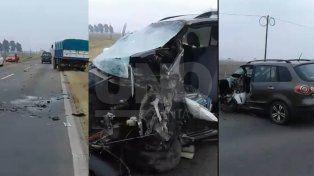 murio el conductor que estrello su auto a proposito con su exmujer a bordo