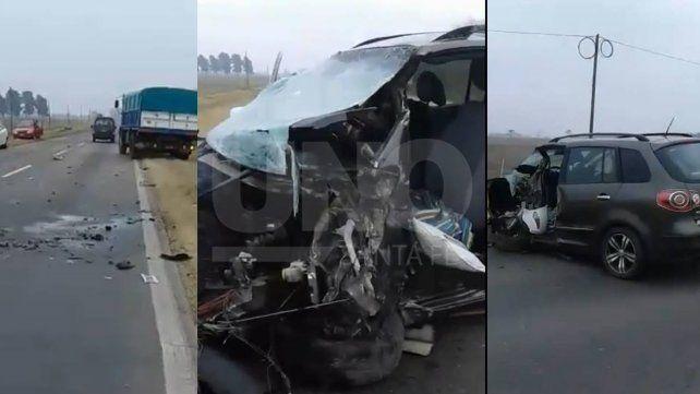 Murió el conductor que estrelló su auto a propósito con su exmujer a bordo