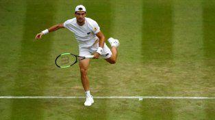 Enorme triunfo de Pella en Wimbledon
