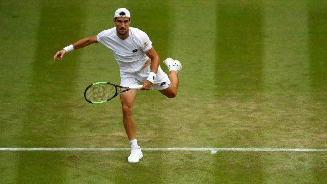 Guido Pella quiere seguir haciendo historia en Wimbledon