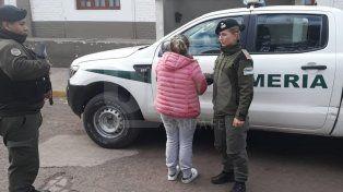 Gendarmería aprehendió a una repartidora de drogas a domicilio