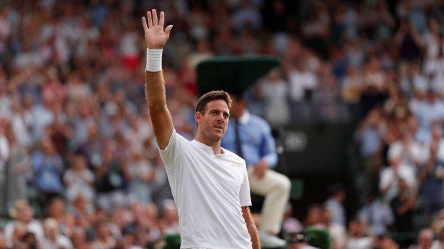 Del Potro ganó y se metió en la tercera ronda de Wimbledon