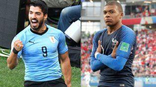 Uruguay busca ante Francia lo que no pudo Argentina
