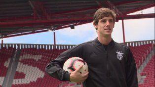 Conti: Es un sueño estar en Benfica