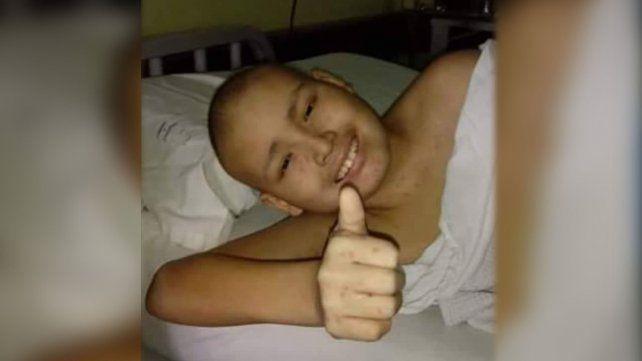 Joel tiene 12 años, padece cáncer de médula ósea y necesita ayuda