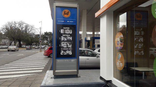 YPF aumentó por segunda vez en la semana el precio de los combustibles