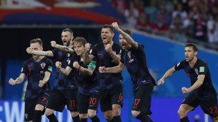 Croacia hizo historia, eliminó a la anfitriona Rusia y está en semifinales