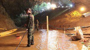 Cómo llegaron los niños a la cueva de Tailandia