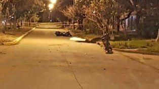 Ceres: violento choque entre motociclistas dejó un muerto y un herido