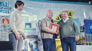 Lifschitz participó de la Fiesta Nacional y Provincial de Pesca del Amarillo de Helvecia