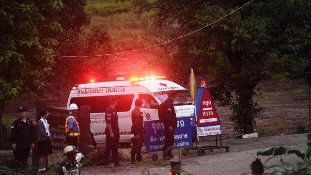 Ya son 10 los chicos rescatados en la cueva de Tailandia