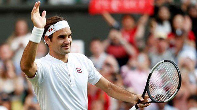 Federer no para y está en cuartos