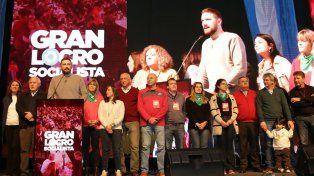 Posición. Estévez argumentó que un cambio socialdemócrata en el país llegará desde Rosario y Santa Fe.