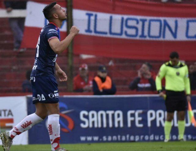 Matías Gallegos, el goleador que asoma en Unión