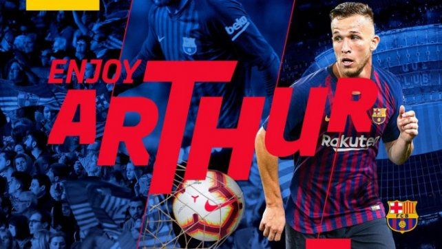 Barcelona sumó a Arthur por seis temporadas