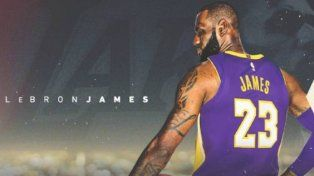 Los Lakers oficializaron la llegada de LeBron James