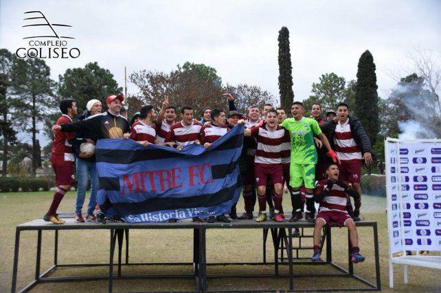 Mitre gritó campeón en un final para el infarto en la Liga Coliseo