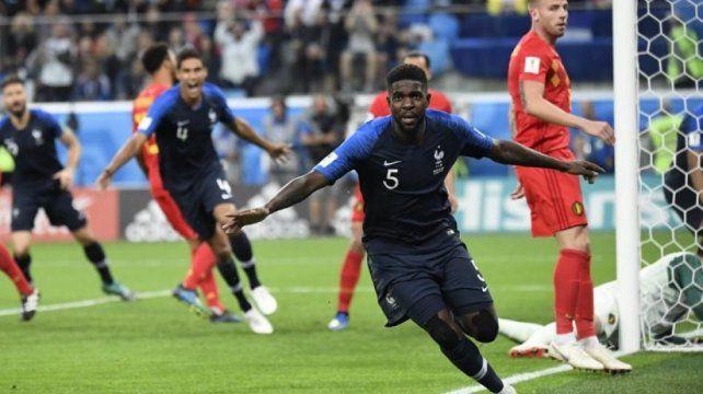 Umtiti le quita presión a Francia