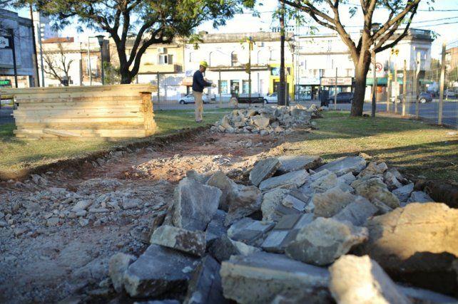 Comenzó la remodelación de la avenida Freyre