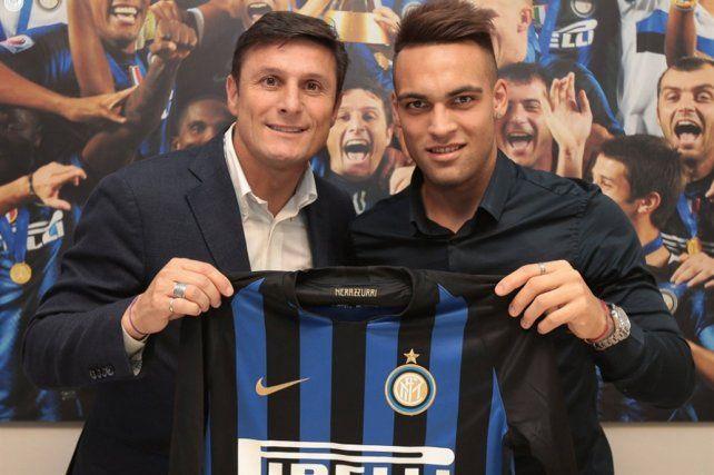 Inter presentó en sociedad a Lautaro Martínez