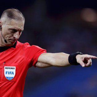 nestor pitana dirigira la final del mundial entre francia y croacia