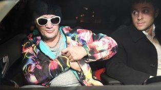 Por un gil, se va terrible artista, le dijo Pity Álvarez a su madre antes de quedar detenido