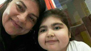 Una selfie de Julia y su mamá. Fuente: Facebook