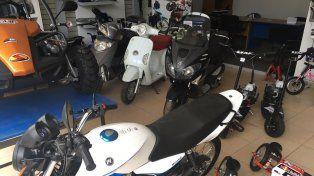 Fuerte caída del patentamiento de motos en Santa Fe