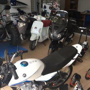 fuerte caida del patentamiento de motos en santa fe
