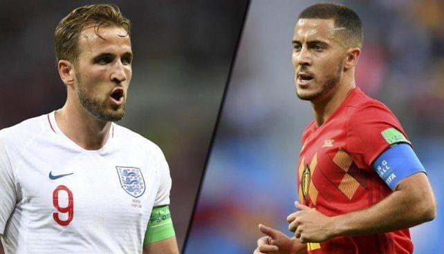 Inglaterra y Bélgica, el partido que nadie quiere jugar