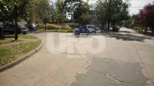 Crespo y Solis. La esquina donde ocurrió el crimen de Fernando Rodríguez, el taxista asesinado con un disparo en el torax.
