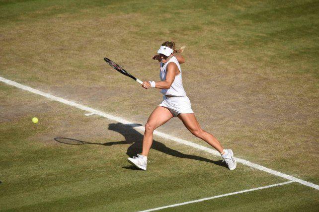 Kerber obtuvo por primera vez el título en Wimbledon