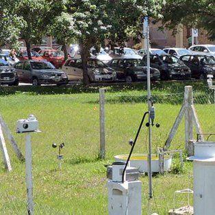Estación meteorológica del Centro de Informaciones Meteorológicas (CIM)