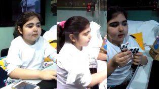 Julia, la youtuber santafesina de 12 años que espera por segunda vez un corazón