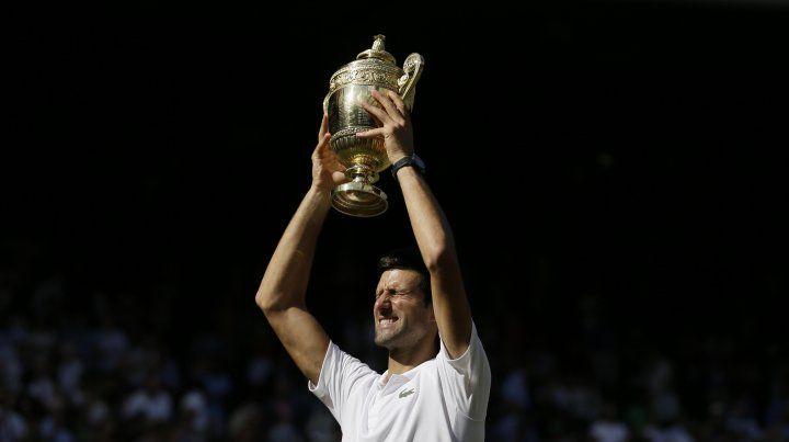 Novak Djokovic es el nuevo rey de Wimbledon