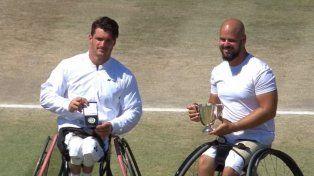 Gustavo Fernández volvió a perder la final de Wimbledon