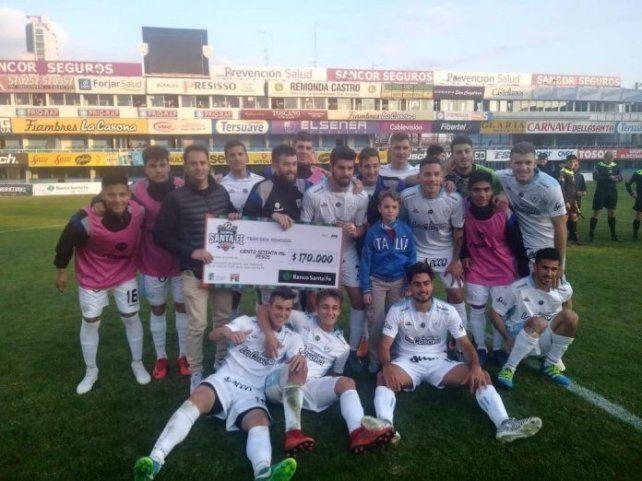 Atlético de Rafaela debutó con el pie derecho en la Copa Santa Fe
