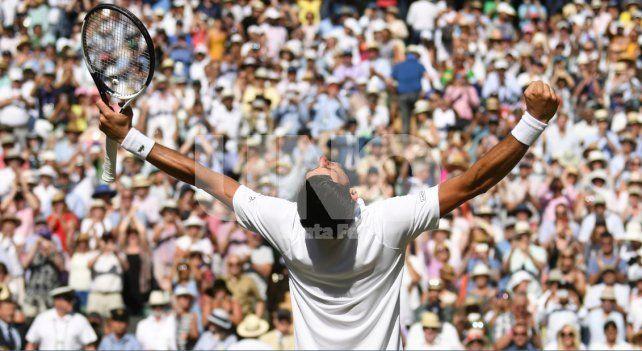 Djokovic se reencontró con su mejor versión en Wimbledon