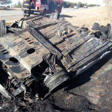 Tres santafesinos perdieron la vida en un choque en la provincia de San Luis
