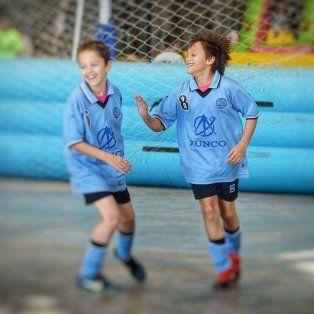 se viene el indoor de futbol infantil