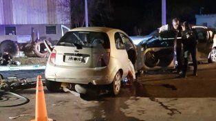 Violento choque frontal con dos muertos y cinco heridos en Santa Fe