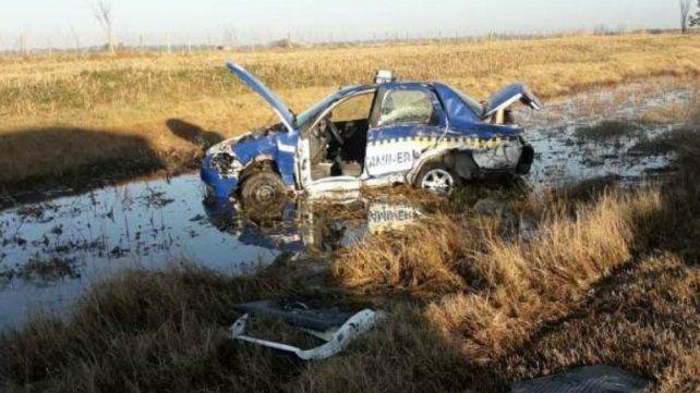Un policía murió atropellado por un automovilista en la autopista a Córdoba