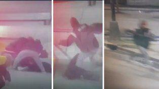 Detuvieron a tres menores que le robaron el arma a una mujer policía