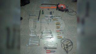 Detuvieron a un ladrón que robó dos talleres mecánicos en San Guillermo