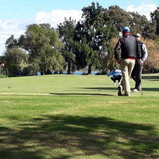 intensa actividad golfistica en la zona