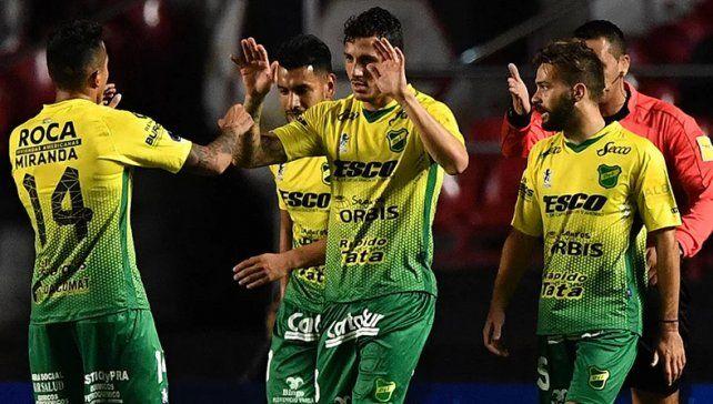 Con la vuelta de Beccacecce, Defensa juega por la Sudamericana