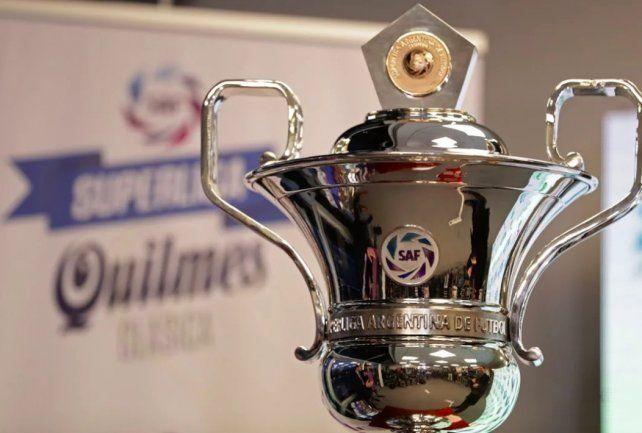 Este jueves se conocerá el fixture de la Superliga