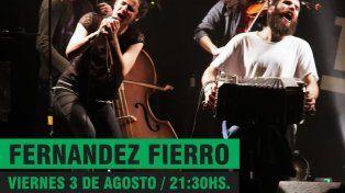 ¡Fernández Fierro presenta Ahora y siempre en Santa Fe!