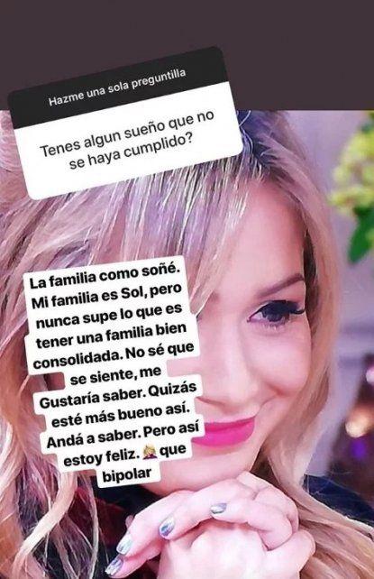 El máximo anhelo de La Princesita Karina: Nunca supe lo que es tener una familia bien consolidada